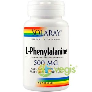 L-PHENYLALANINE 500MG 60CPS (L-Fenilalanina) imagine