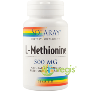 L-Methionine 500mg 30cps (L-Metionina) imagine