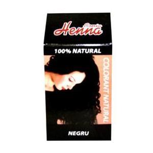 Colorant Natural Henna Sonia, Negru, 100 g imagine