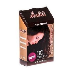 Vopsea de Par Premium Henna Sonia, Cafeniu, 60 g imagine