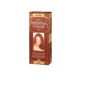 Balsam Colorant cu Extract de Henna Henna Sonia, Nr.6 Rosu Titan, 75 ml imagine