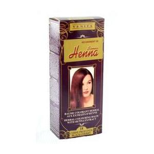 Balsam Colorant cu Extract de Henna Henna Sonia, Nr.18 Cireasa Neagra, 75 ml imagine