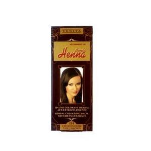 Balsam Colorant cu Extract de Henna Henna Sonia, Nr.114 Saten Auriu 75 ml imagine