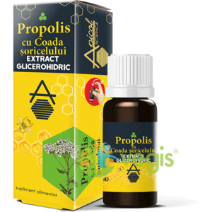 Propolis cu Coada Soricelului Extract Glicerohidric 30ml imagine