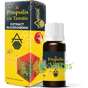 Propolis cu Tamaie Extract Glicerohidric 30ml imagine