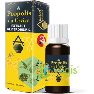 Propolis cu Urzica Extract Glicerohidric 30ml imagine