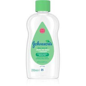 Johnson's Baby Care ulei cu aloe vera imagine