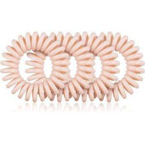 BrushArt Hair Rings Natural Elastice pentru par 4 pc imagine