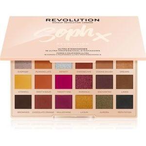 Makeup Revolution Soph X Extra Spice paleta farduri de ochi cu oglinda mica imagine