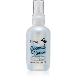 I love... Coconut & Cream spray de corp racoritor imagine