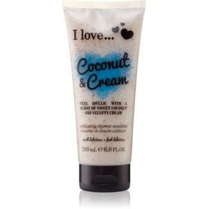 I love... Coconut & Cream gel de dus exfoliant imagine