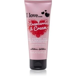 I love... Strawberries & Cream crema de maini imagine