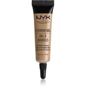 NYX Professional Makeup Eyebrow Gel gel pentru sprâncene rezistent la apă imagine