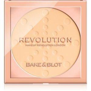 Makeup Revolution Bake & Blot pudra de fixare imagine