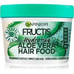 Garnier Fructis Aloe Vera Hair Food masca hidratanta pentru par normal spre uscat imagine