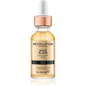 Revolution Skincare Gold Elixir elixir piele cu ulei de macese imagine