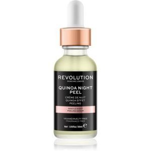 Revolution Skincare Quinoa Night Peel serum cu textură de peeling pentru noapte imagine