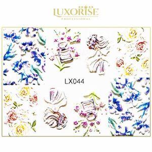 Tatuaj 3D Unghii LUXORISE Artistry LX044 imagine