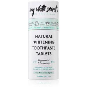 My White Secret Toothpaste Tablets pasta de dinti pentru albire imagine