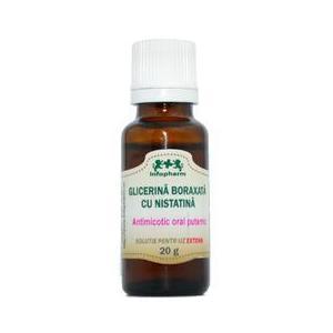 Glicerina Boraxata cu Nistatina Infofarm, 20g imagine