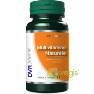 Multivitamine Naturale 60cps imagine