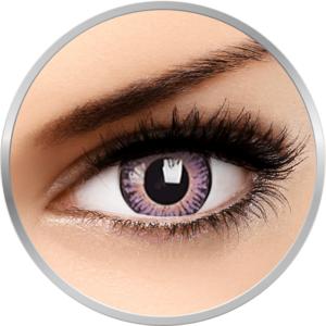 3 Tones Violet - lentile de contact colorate violet trimestriale - 90 purtari (2 lentile/cutie) imagine