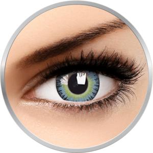 ColourVUE- Fusion Yellow/Blue - lentile de contact colorate albastre trimestriale - 90 purtari (2 lentile/cutie) imagine