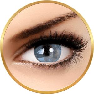 Adore Bi Tone Aqua - lentile de contact colorate albastre trimestriale - 90 purtari (2 lentile/cutie) imagine