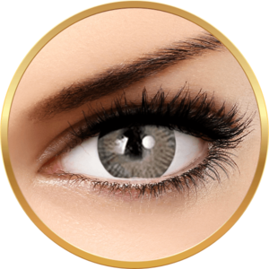 Adore Tri Tone Light Grey - lentile de contact colorate gri trimestriale - 90 purtari (2 lentile/cutie) imagine