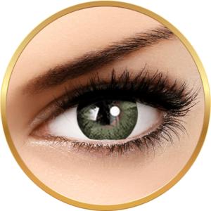 Adore Dare Yellow - lentile de contact colorate verzi trimestriale - 90 purtari (2 lentile/cutie) imagine
