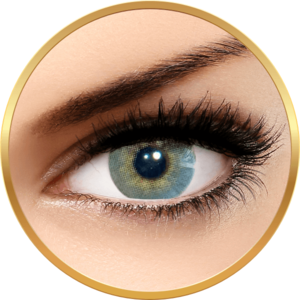 Solotica Hidrocor Quartzo - lentile de contact colorate gri anuale - 365 purtari (2 lentile/cutie) imagine