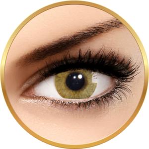 Solotica Hidrocor Avela Caprui - lentile de contact colorate caprui anuale - 365 purtari (2 lentile/cutie) imagine