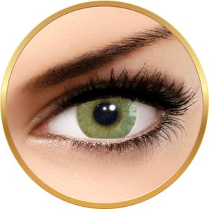 Solotica Hidrocor Mel - lentile de contact colorate verzi anuale - 365 purtari (2 lentile/cutie) imagine