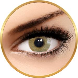 Solotica Hidrocor Ocre - lentile de contact colorate caprui anuale - 365 purtari (2 lentile/cutie) imagine