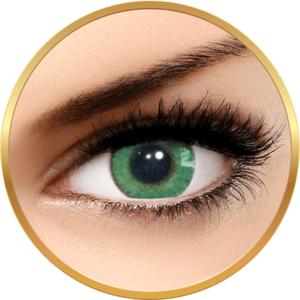 Solotica Natural Colors Verde - lentile de contact colorate verde intens anuale - 365 purtari (2 lentile/cutie) imagine