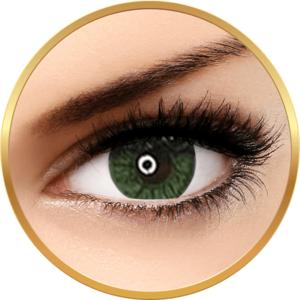 Adore Crystal Green - lentile de contact colorate verzi trimestriale - 90 purtari (2 lentile/cutie) imagine