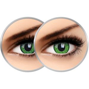 2 x Phantasee Vivid Green - lentile de contact colorate verzi trimestriale - 90 purtari (2 lentile/cutie) imagine