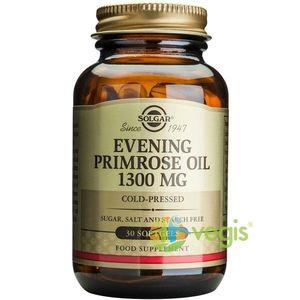 Evening Primrose Oil 1300mg 30cps (Ulei de luminita noptii) imagine