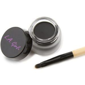 Contur De Ochi L.A. Girl Gel Liner Kit Very Black imagine