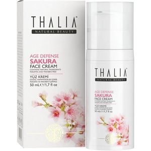 Crema de fata anti-imbatranire Thalia Age Defense sakura 50 ml imagine