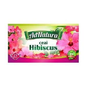 Ceai Hibiscus Flori 25dz Adserv imagine