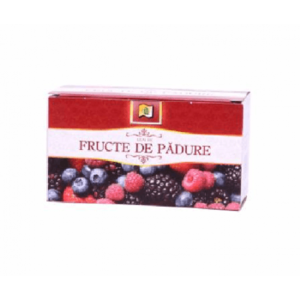 Ceai Fructe De Padure 20 Dz 40gr StefMar imagine