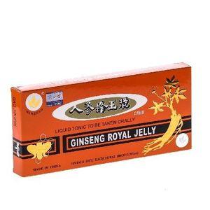 Fiole Ginseng Royal Jelly 10 Minerva 100ml imagine
