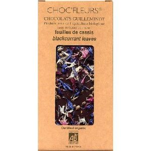 Ciocolata cu Coacaz Negru Burgundia 100gr ChocFleur imagine