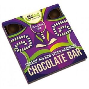 Ciocolata cu 70% Cacao si Chia Raw 35g Bio Lifefood imagine