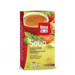Supa Crema de Rosii cu Busuioc Bio 1l Lima imagine