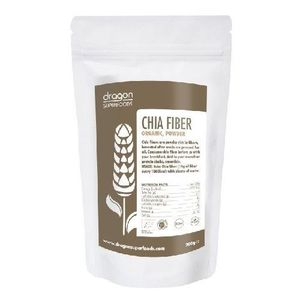 Chia Fibre Pulbere Raw Bio 200gr Dragon Superfoods imagine