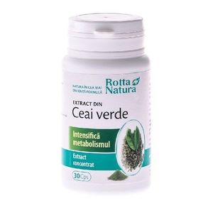Ceai Verde Extract 30cps imagine