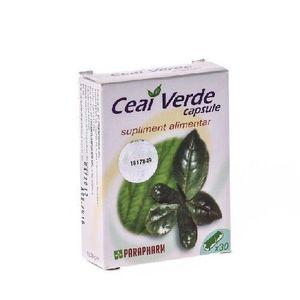 Ceai Verde 30cps imagine