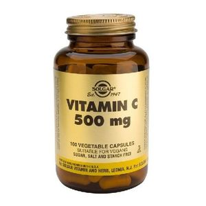 Vitamina C 500mg 100cps Solgar imagine